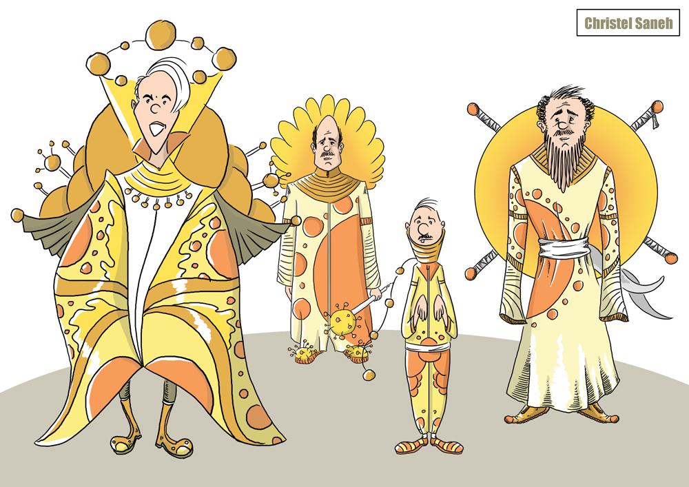 Character-design-Monde-du-soleil