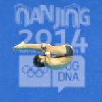 Nanjing, Jiangsu, China - Tuesday August 26, 2014: Photo Diving 10m platform prelim. - Jonathan CHAN (SIN) - the Youth Olympic Games in Nanjing China.Christel Saneh/IOC Young Reporters#Nanjing2014 #youtholympics #yog #youngreporters
